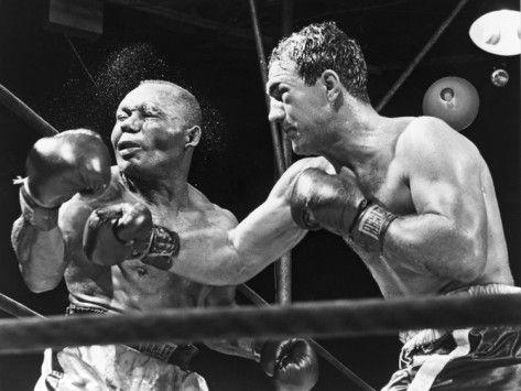 Photo of Boxing – Heavyweight Title – Ezzard Charles VS Joe Walcott & Rocky Marciano vs Jersey Joe Walcott