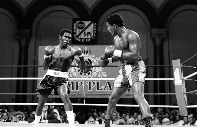 Photo of Boxing – Jr Welterweight Bout – Hector Camacho VS Howard Davis