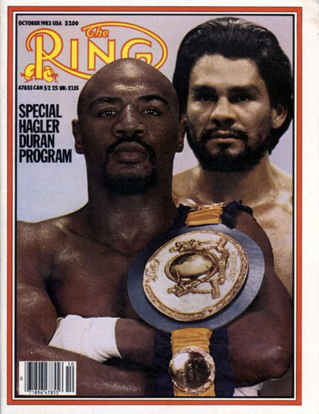 Photo of Boxing – Middleweight Title – Champ Marvelous Marvin Hagler VS Roberto Duran