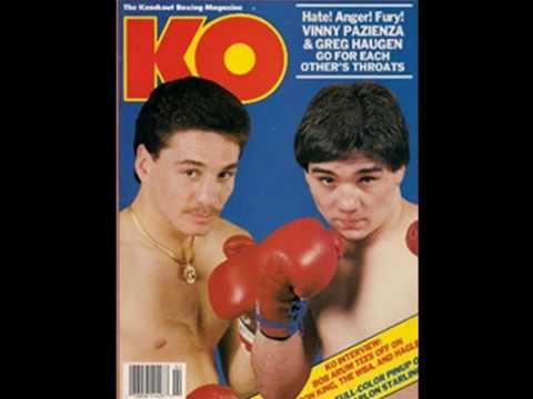 Photo of Boxing – Lightweight Title – Champ Greg Haugen VS Vinny Pazienza