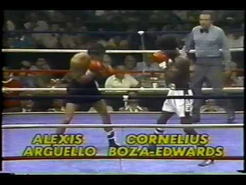 Photo of Boxing – Lightweight Bout – Alexis Arguello VS Cornelius Boza Edwards
