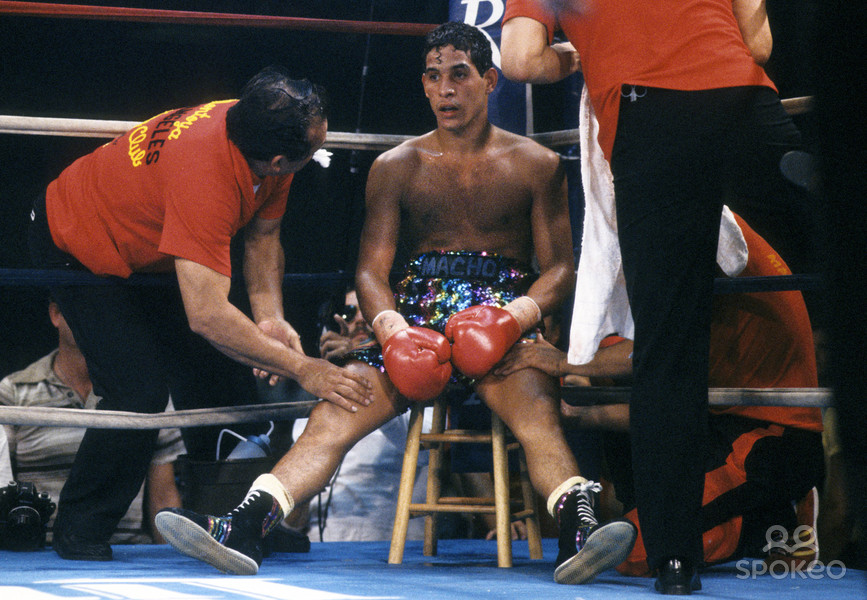 Photo of Boxing – Lightweight Bout – Hector Camacho VS Cubanito Perez