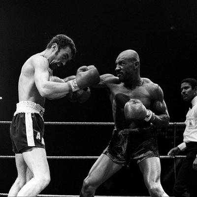 Photo of Boxing – Middleweight Title – Marvelous Marvin Hagler VS Alan Minter
