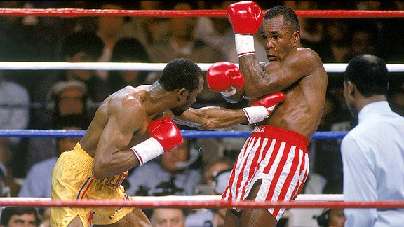Photo of Boxing – WBC Super Middleweight Title – Sugar Ray Leonard VS Thomas Hearns II