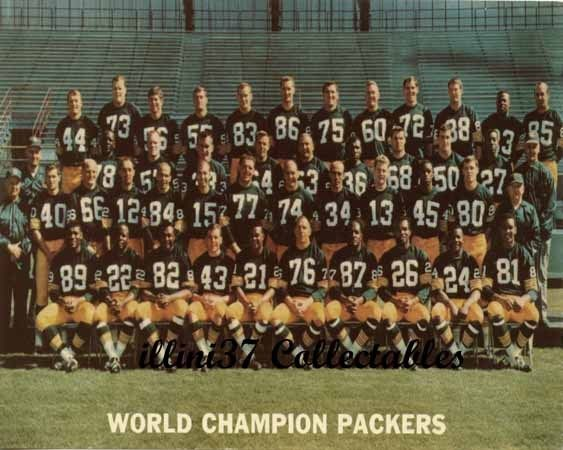 Photo of NFL – 1967 Green Bay Packers – Part 1