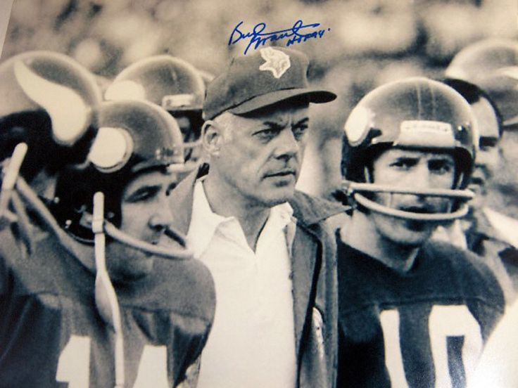 Photo of NFL – Great Coaches – Minnesota Vikings Bud Grant
