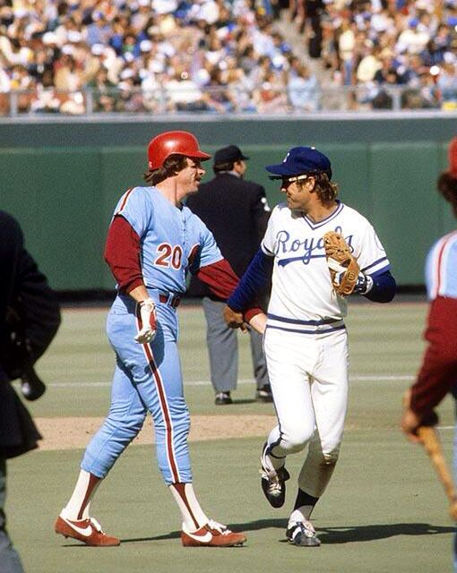 Photo of MLB – 1980 All Star Game – Dodger Stadium – Howard Cosel & Jim Palmer & Al Michaels – Part 2