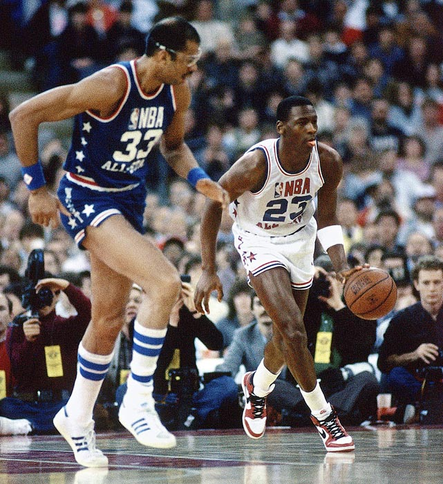 NBA – 1985 All Star Game – Indiana Hoosier Dome – Dick ...