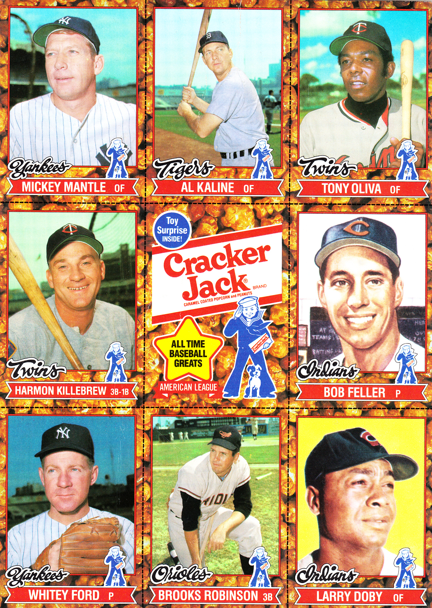 Photo of MLB – Special – 1st Annual Cracker Jack's Old Timers Classic – With Red Barber & Jack Brickhouse