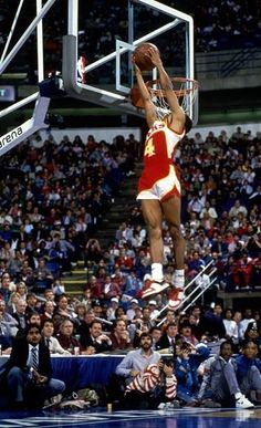 Photo of NBA – 1986 All Star Saturday – Slam Dunk Contest With Spud Webb & Legends Game With Bob Cousy And Big O