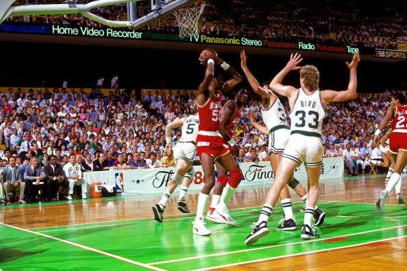 Photo of NBA – 1986 Finals – Boston Celtics VS Houston Rockets – Game 2