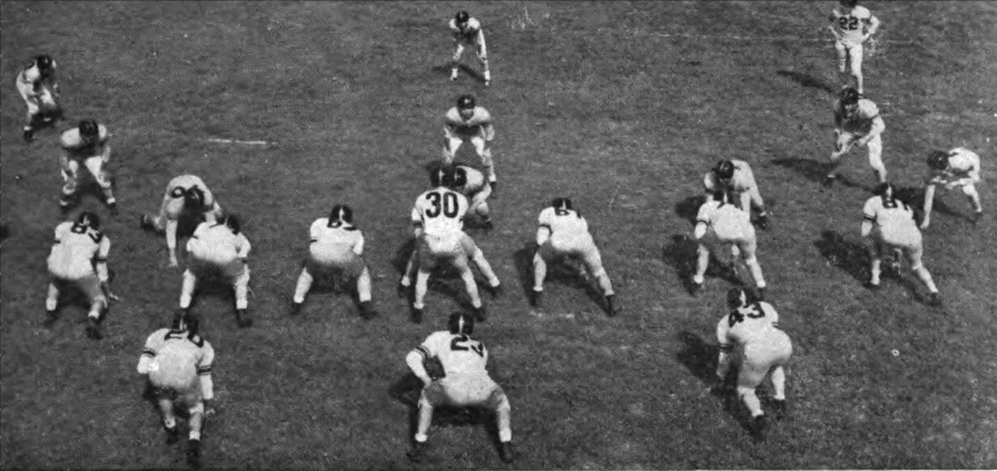 Photo of NFL – Special – Big Game America – Advent Of The T-Formation – Host Burt Lancaster