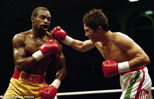 Photo of Boxing – 1984 Junior Lightweight Bout – Rocky Lockridge VS Dennis Cruz