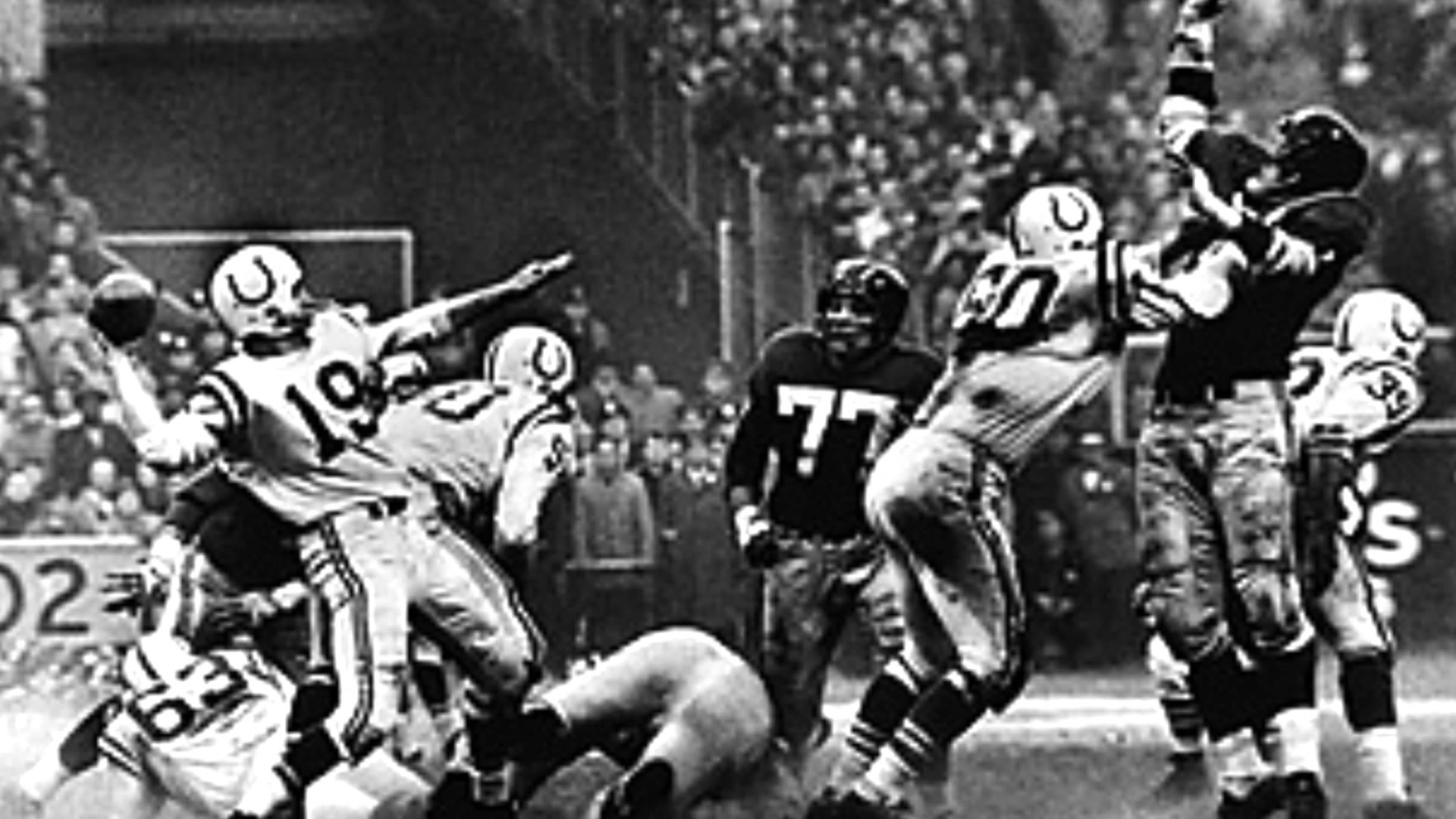 NFL – Special – Old Rivals Touch Football Game – 1958 NY ...