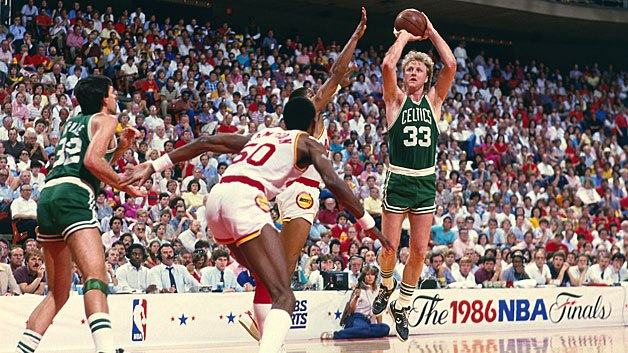 Photo of NBA – 1986 Finals – Boston Celtics VS Houston Rockets – Game 1