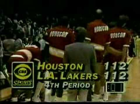 Photo of NBA – 1986 West Finals – Game 5 – Los Angeles Lakers VS Houston Rockets