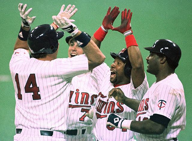 Photo of MLB – 1987 ALCS – Game 2 – Hubert H Humphrey Metrodome – Twins VS Tigers – 8th & 9th Inning