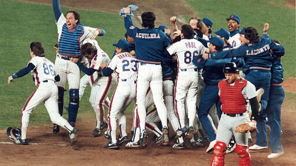 Photo of MLB – 1986 NLCS – Game 6 – Astrodome – New York Mets VS Houston Astros – 9th Thru 15th Inning