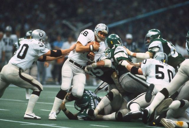 Photo of NFL – 1981 Super Bowl XV – Louisiana Superdome – Oakland Raiders VS Philadelphia Eagles – Qtrs 2 – 4