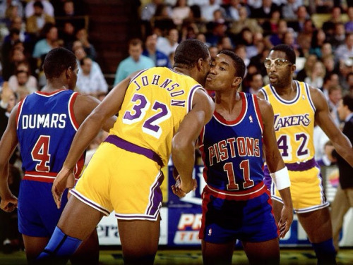 Photo of NBA – 1987 Finals – Game 2 – The Forum – Detroit Pistons VS Los Angeles Lakers – 1st Half