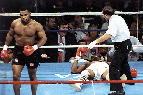 Photo of Boxing – 1988 – 12 Round WBC Heavyweight Title – Tony Tubbs VS Iron Mike Tyson