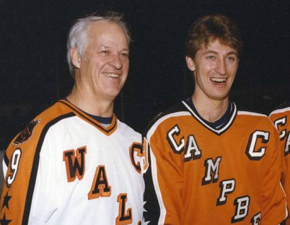 Photo of NHL – 1985 – 38th Annual All Star Game – Wales All Stars VS Campbell All Stars – With Al Trautwig