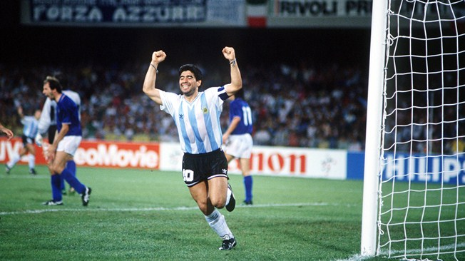 Photo of Soccer – 1990 – FIFA World Cup Semifinals – Argentina Vs Italy