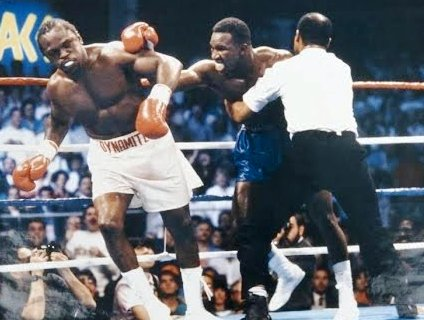 Photo of Boxing – 1989 – 12 Rnd Continental Americas Heavyweight Title – Evander Holyfield VS Michael Dokes