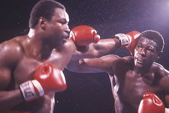 Photo of Boxing – 1985 – 15 Round IBF Heavyweight Title Fight – Larry Holmes VS Carl Williams – Rounds 1 – 9