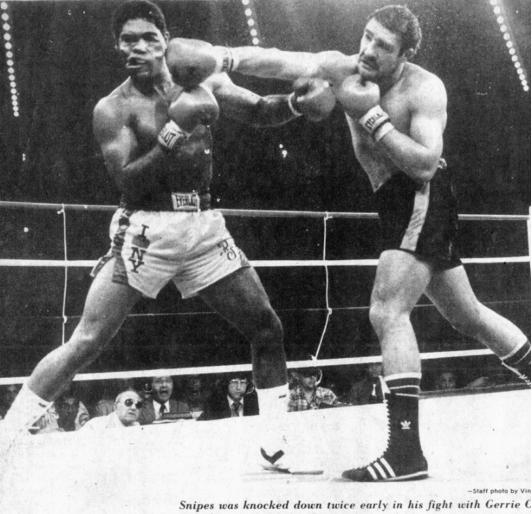 Photo of Boxing – 1981 – 10 Round Heavyweight Bout – Gerrie Coetzee vs Renaldo Snipes