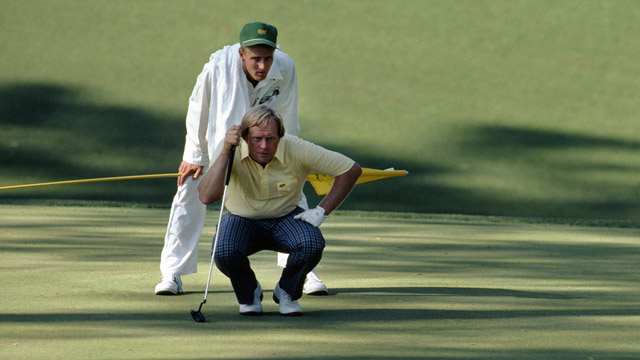 Photo of Golf – 1986 Masters – Final Round – Nicklaus & Ballesteros & Norman & Kite & Crenshaw – Part 1
