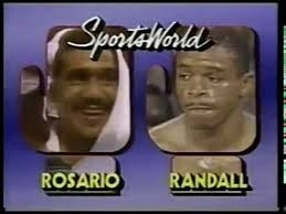 Photo of Boxing – 1985 – 10 Round Lightweight Bout – Edwin Rosario VS Frankie Randall