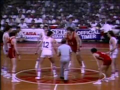 Photo of Basketball – 1982 – 9th World Championship – Gold Medal Game – USA vs USSR – 2nd Half