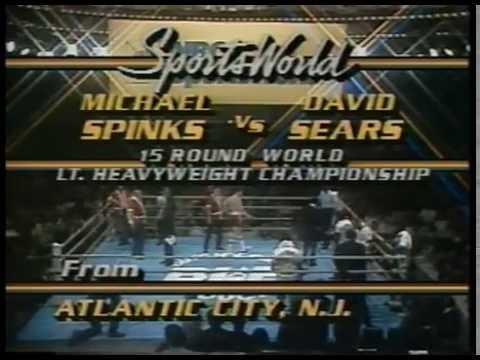 Photo of Boxing – 1985 – 15 Round Undisputed Light Heavyweight Championship – Michael Spinks VS David Sears