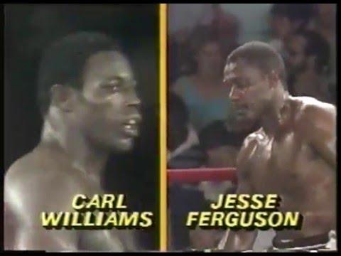 Photo of Boxing – 1985 – 10 Round Heavyweight Bout – Carl Truth Williams VS Jesse Ferguson