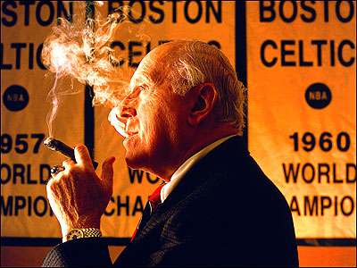 Photo of NBA – Special – Tribute To Red Auerbach At Boston Gardens – With Roy Firestone