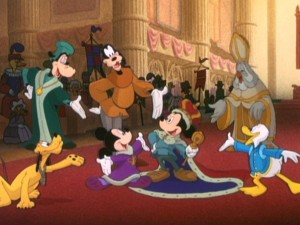 Photo of Movie – Walt Disney Animation – The Prince and The Pauper – Starring Mickey Mouse