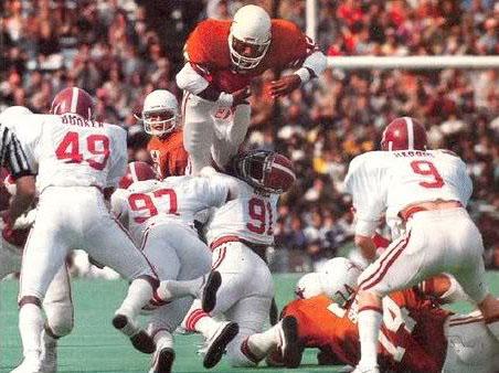 Photo of NCAA Football – 1982 – Cotton Bowl Classic – Alabama Crimson Tide VS Texas Longhorns – 2nd Half