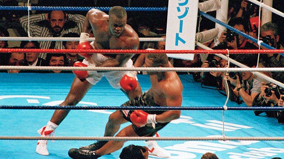 Photo of Boxing – 1990 -15 Round Heavyweight Title – Iron Mike Tyson VS Buster Douglas – HBO In Studio Replay