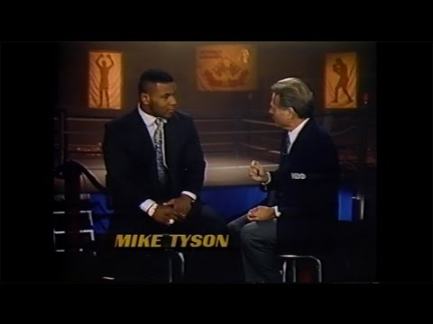 Photo of Boxing – 1986 –   HBO Post Fight Interview – 10 Round Heavyweight Bout – Mike Tyson VS Mitch Green