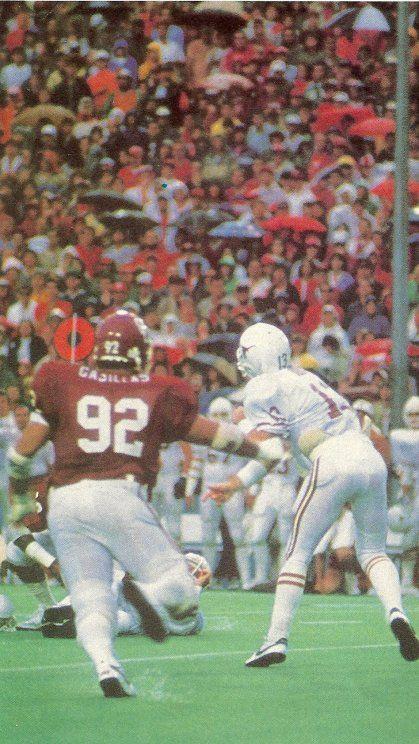 Photo of NCAA Football – 1984 – Red River Shootout – #1 Texas Longhorns VS #2 Oklahoma Sooners – 1st Half