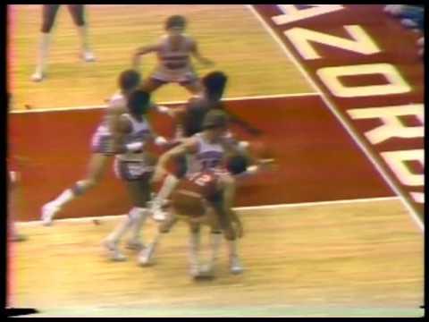 Photo of NCAAM Basketball – 1980 – SWC Game Of Week – Texas Longhorns VS Arkansas Razorbacks – 1st Half
