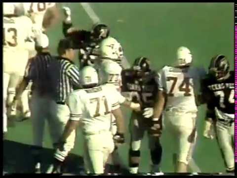 Photo of NCAA Football – 1984 – SWC Game of Week – Texas University VS Texas Tech – 2nd Half