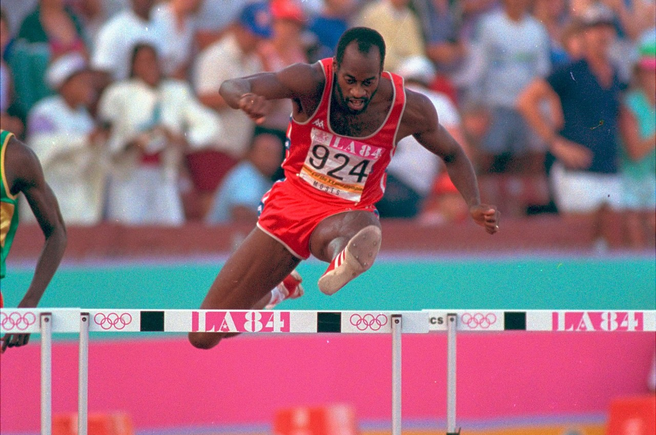 Photo of Olympics – 1984 L A Games – Track – Women's 400m & 100m & Men's 400m Hurdles – Women's Volleyball