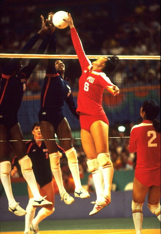 Photo of Olympics – 1984 L A Games – Mens Boxing & Wrestling & Baseball – Womens Volleyball & Basketball