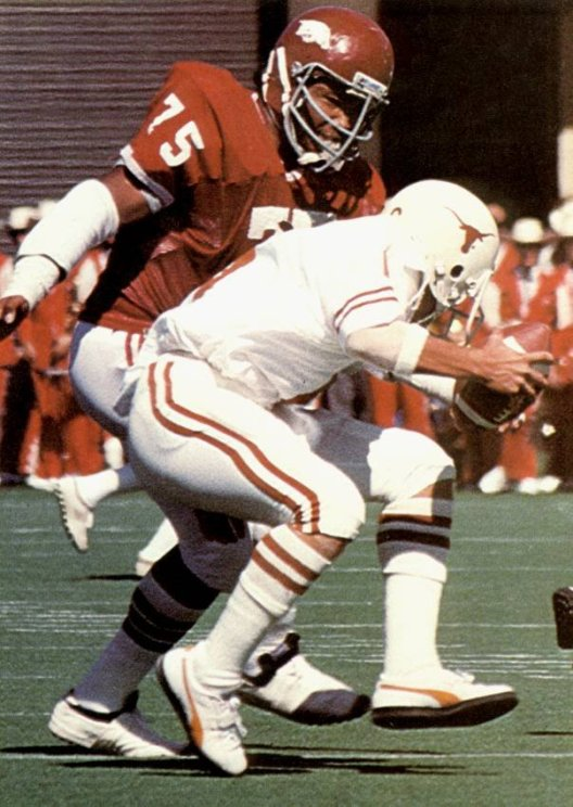 Photo of NCAA Football – 1985 – SWC Game of the Week – Texas Longhorns VS Arkansas Razorbacks – 1st Qtr
