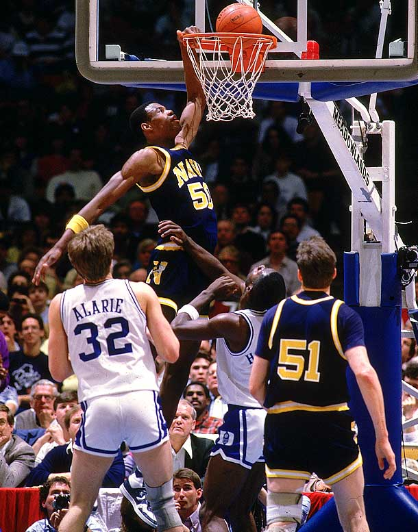 Photo of NCAAM Basketball – 1986 – East Region Finals – Duke Blue Devils VS Navy Midshipmen