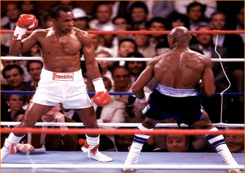 Photo of Boxing – 1987 – HBO PreFight Special – Middleweight Title – Marvin Hagler VS Sugar Ray Leonard