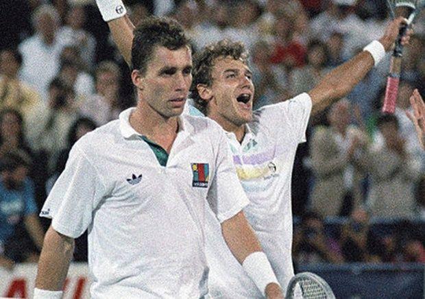 Photo of Tennis – 1983 – US Open Mens Qtr Finals – Ivan Llendl VS Mats Wilander – 4th Set