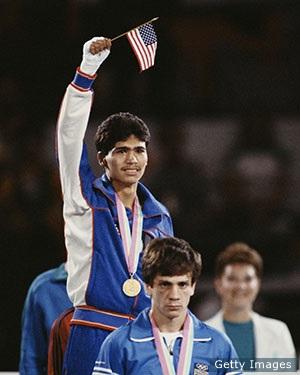 Photo of Olympics – 1984 L A Games – Boxing – Flywts & Lt Flywts & Super Flywts – Diving Men's 3m